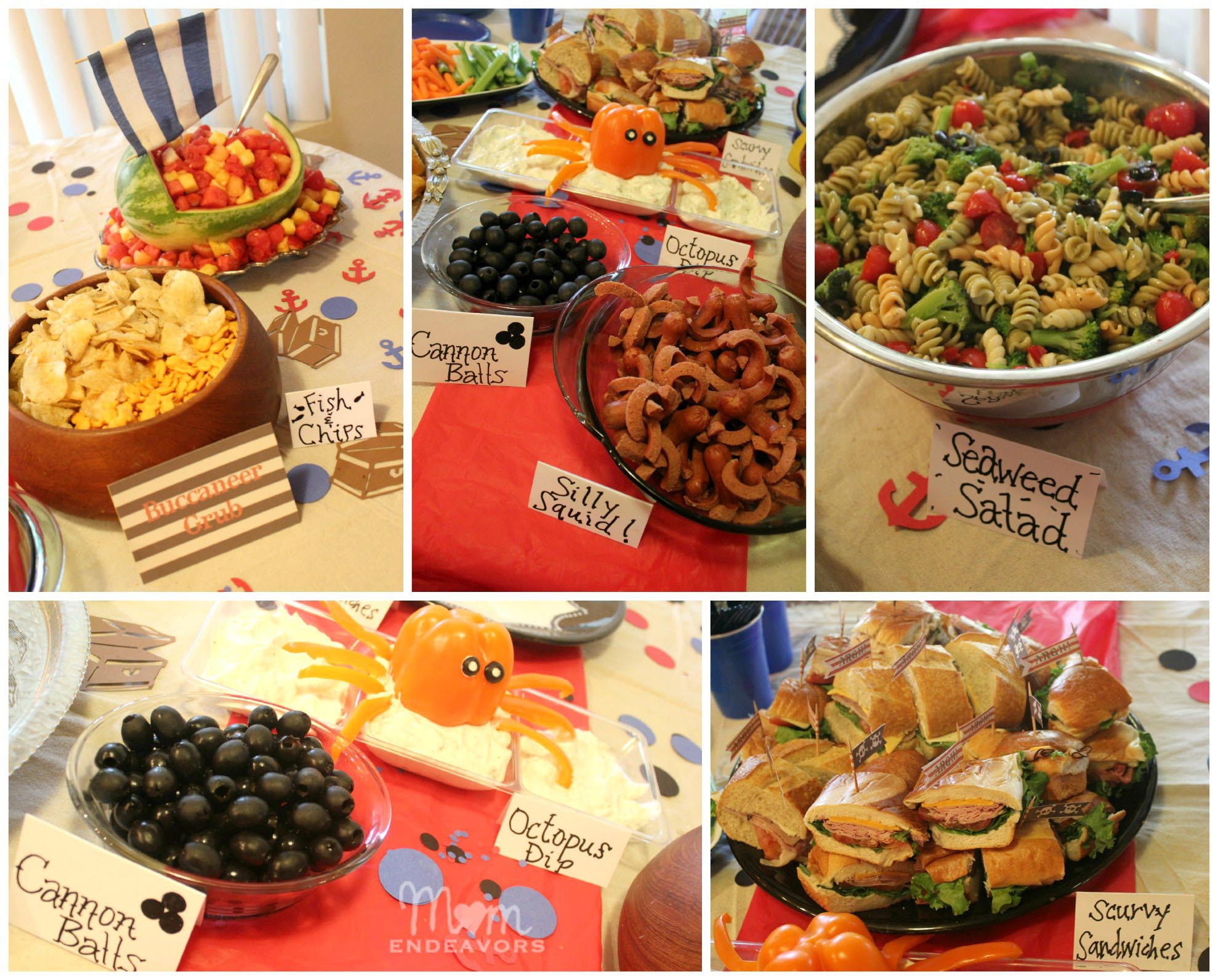 Adult Pirate Party Food