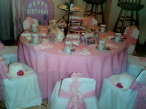 Birthday Tea Party Ideas