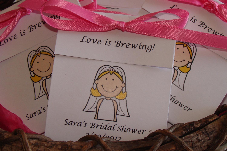 Bridal Tea Party Favors