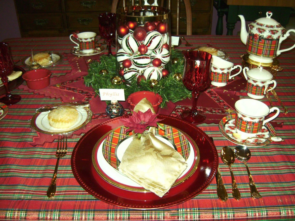 Christmas Tea Party Favors