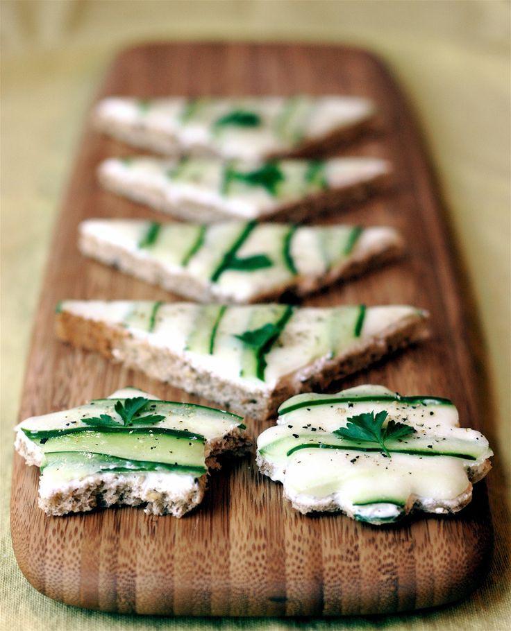 Cucumber Sandwiches Tea Party