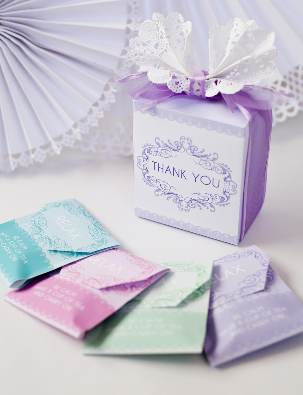 DIY Tea Party Favors