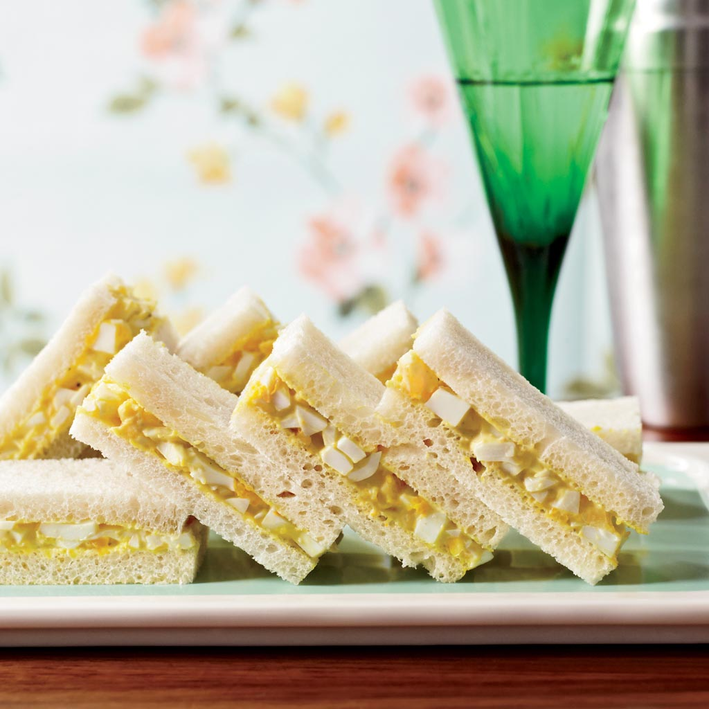 Egg Salad Sandwiches for Tea Party