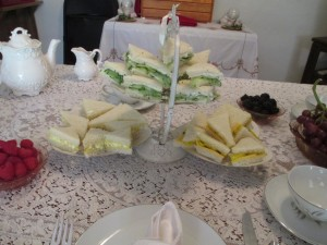 Finger Sandwiches Tea Party