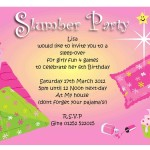 Free Pajama Party Invitations
