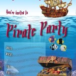 Free Pirate Party Invitations