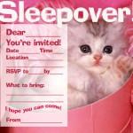 Free Printable Pajama Party Invitations