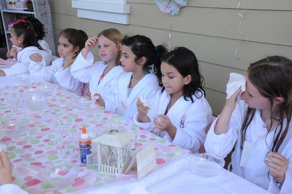 Girl Spa Birthday Party Ideas