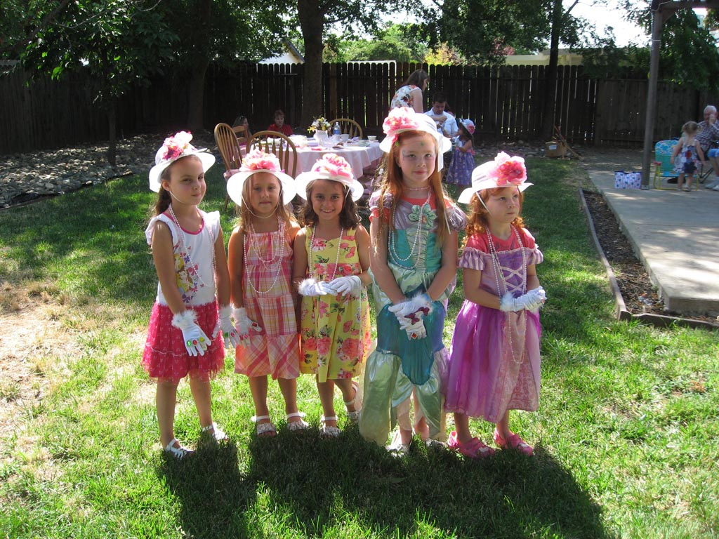 Girl Tea Party Games