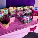Girls Birthday Party Spa
