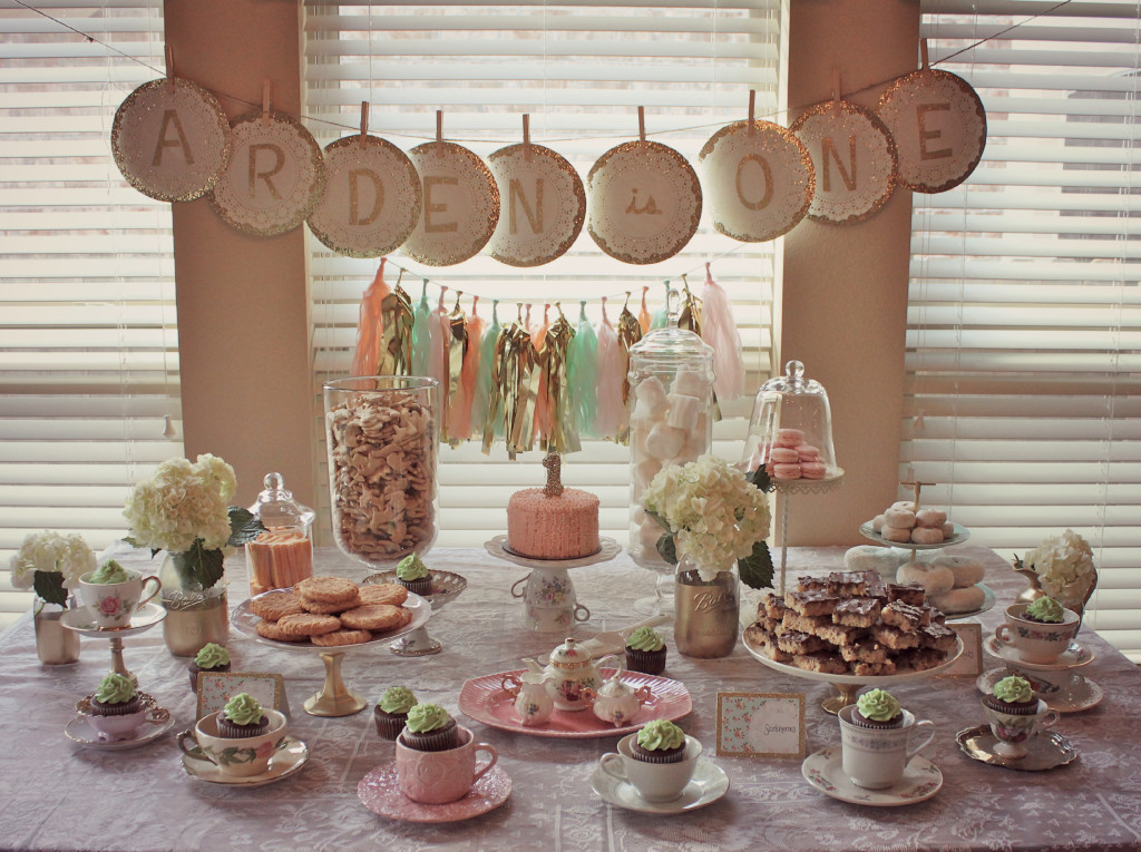 Girls Birthday Tea Party