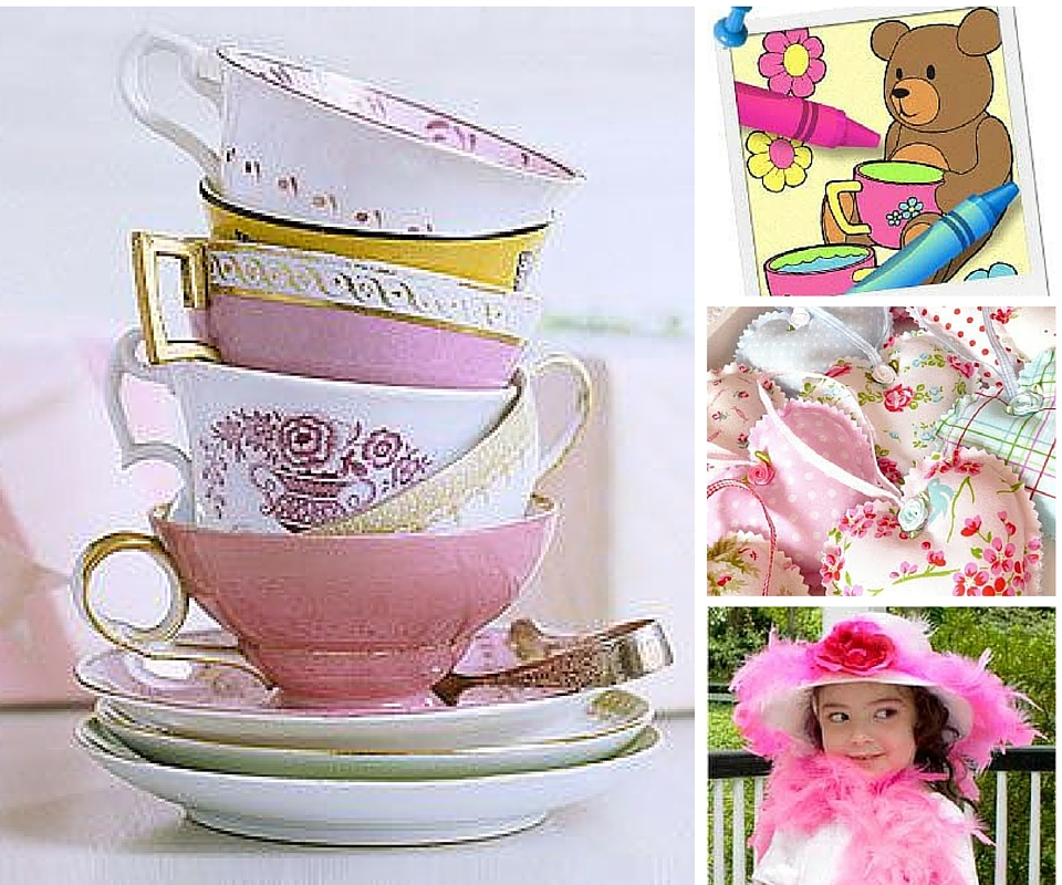Girls Tea Party Birthday