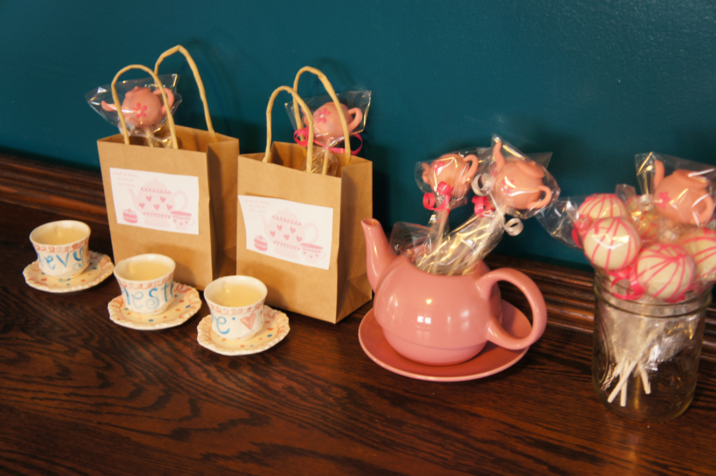 Girls Tea Party Favors