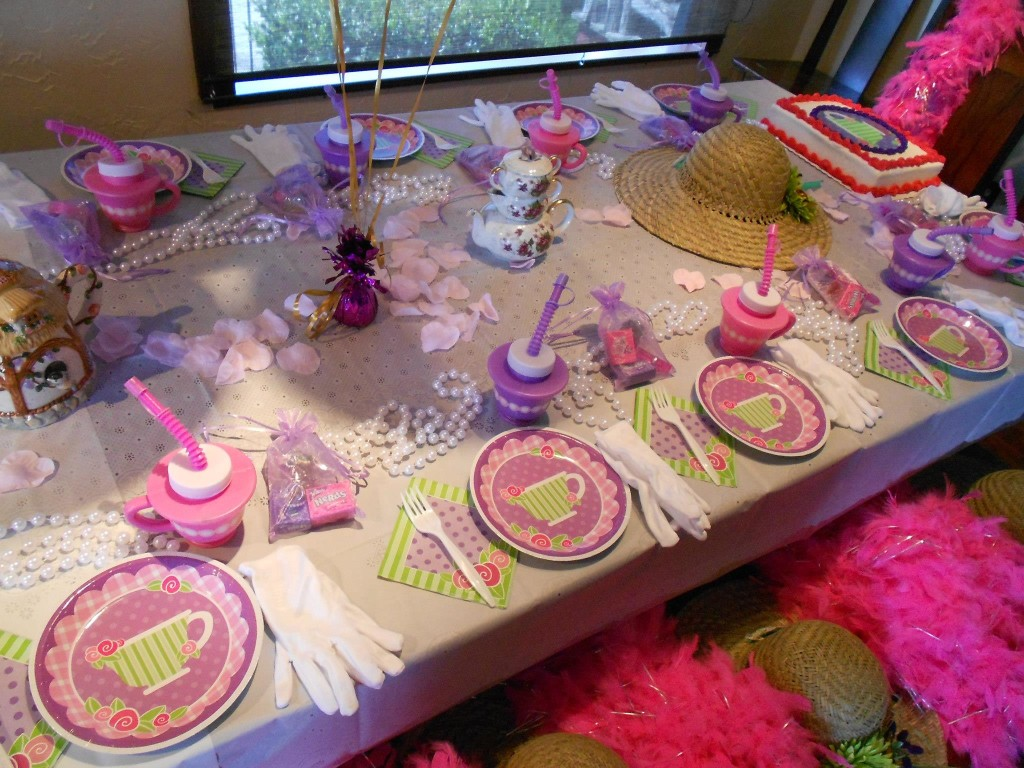 Girls Tea Party Games