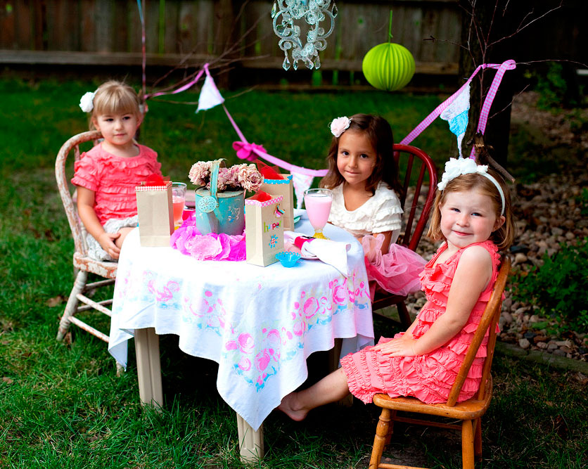 Girls Tea Party Ideas