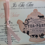 Girls Tea Party Invitations