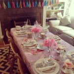 Girls Tea Party Menu