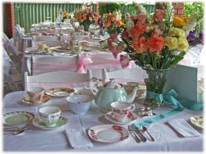 High Tea Party Themes