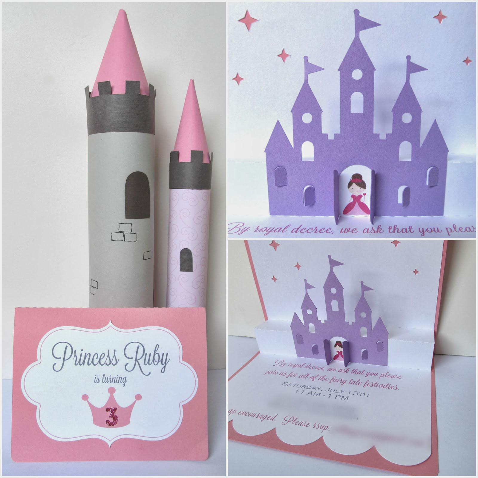 DIY Princess Party Invitations – Diy Princess Party Invitations