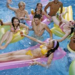 Hot Teen Pool Party