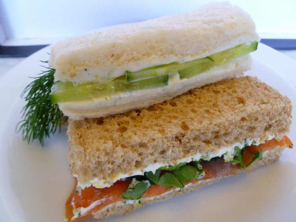 How to Make Cucumber Sandwiches for Tea Party