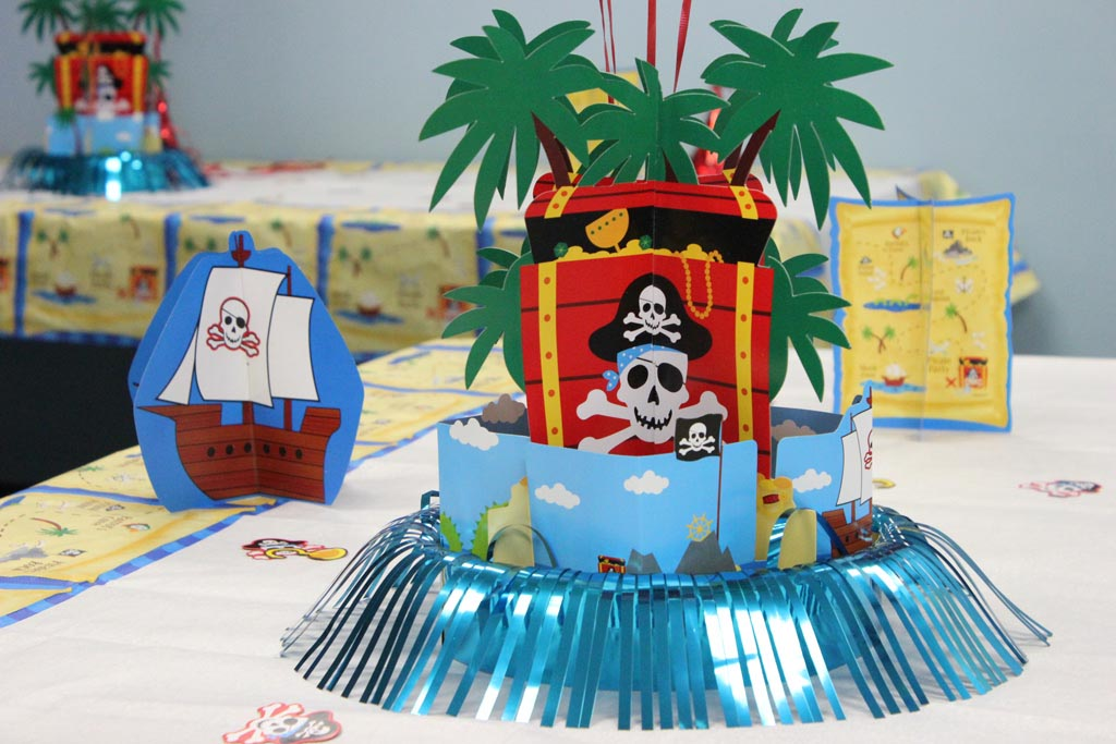 Indoor Pirate Party Games