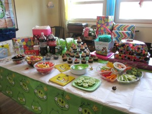 Kids Bday Party Food