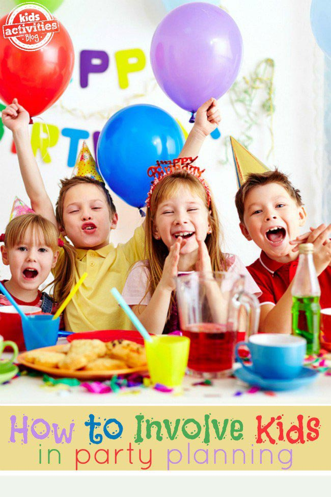 Kids Birthday Party Planner