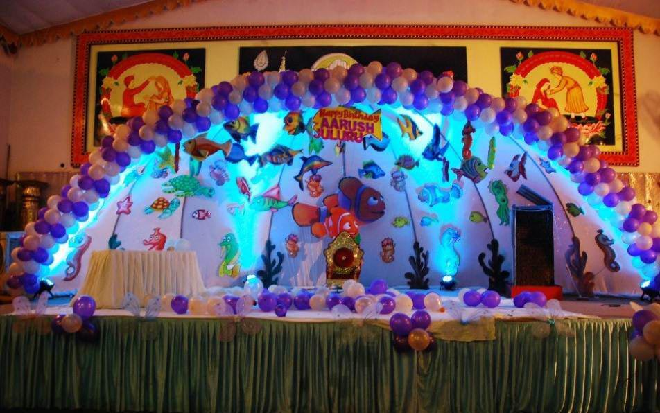 Kids party decorations ideas home party ideas for Bday decoration