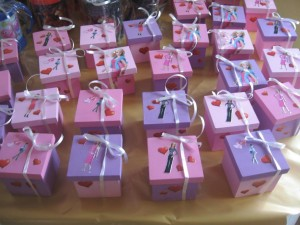 Kids Party Favors Ideas