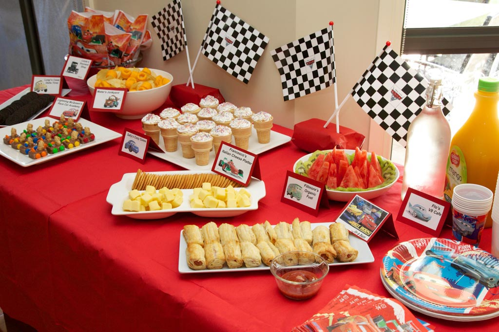 Kids Party Food Menu