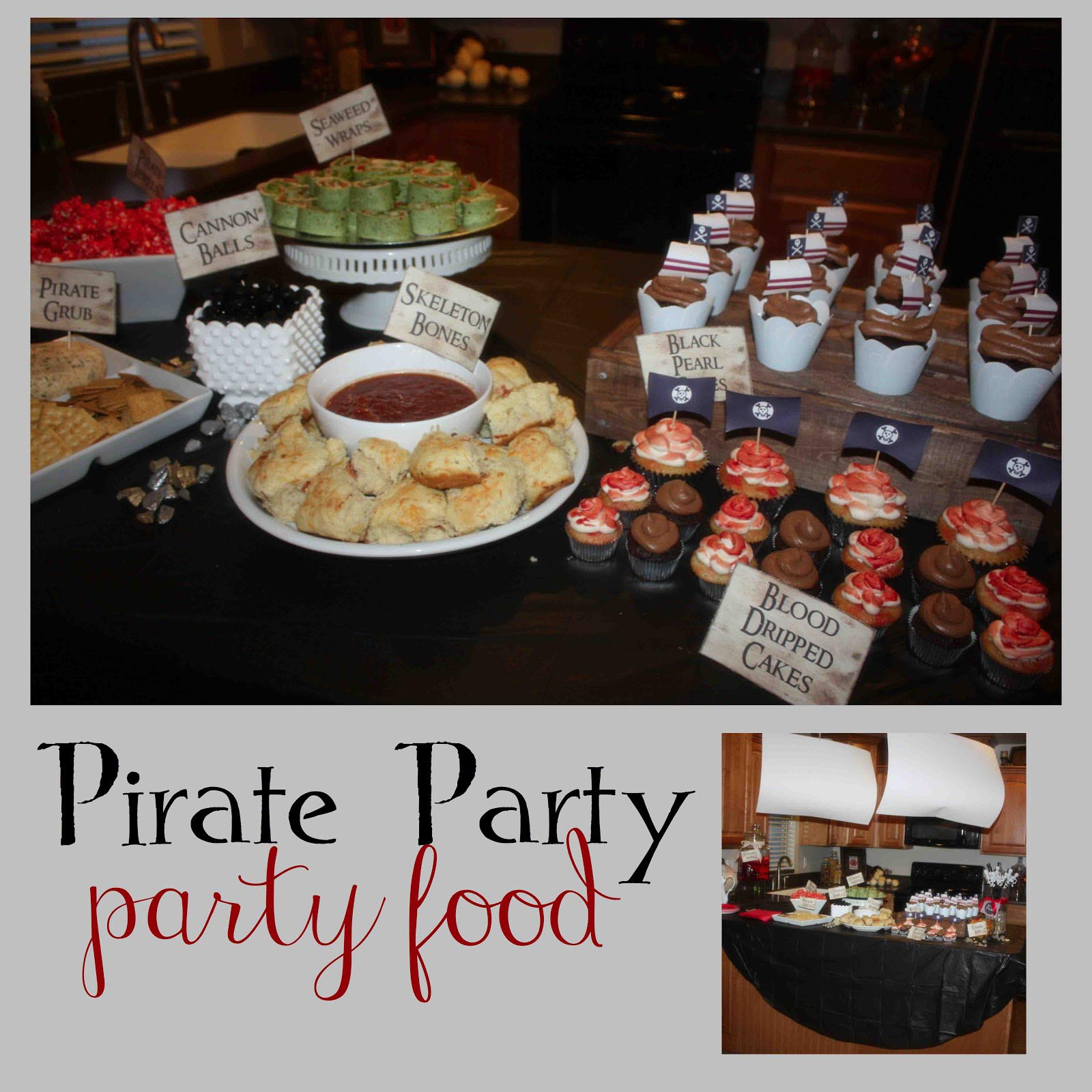 Kids Pirate Party Food