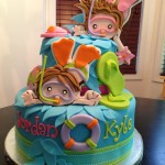 Kids Pool Party Cake