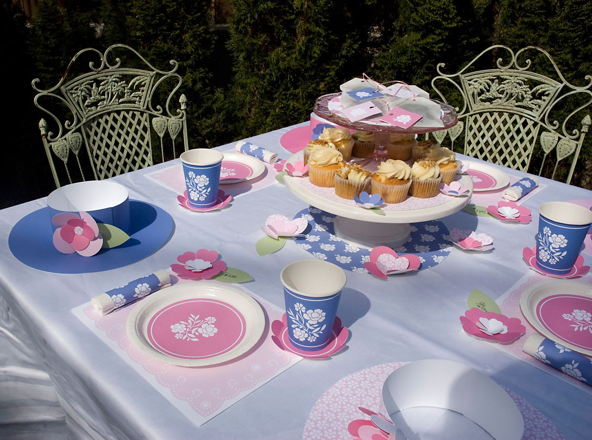 Kids Tea Party Birthday