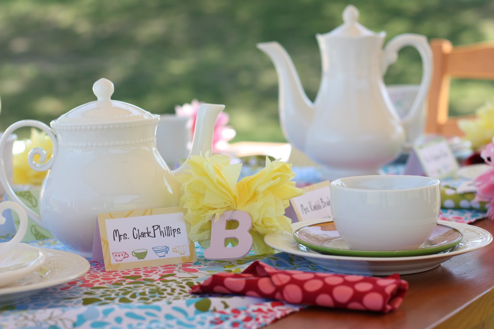 Kids Tea Party Decorations
