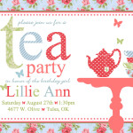 Kids Tea Party Invitation