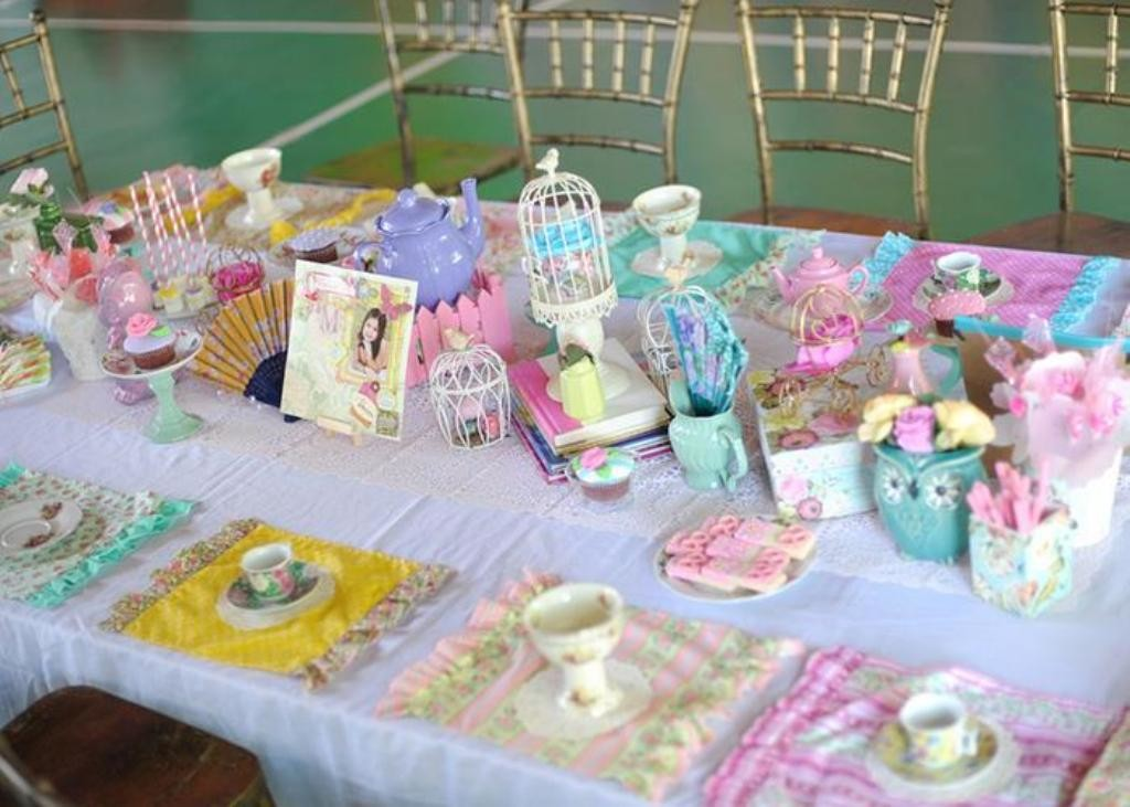 Kids Tea Party Supplies