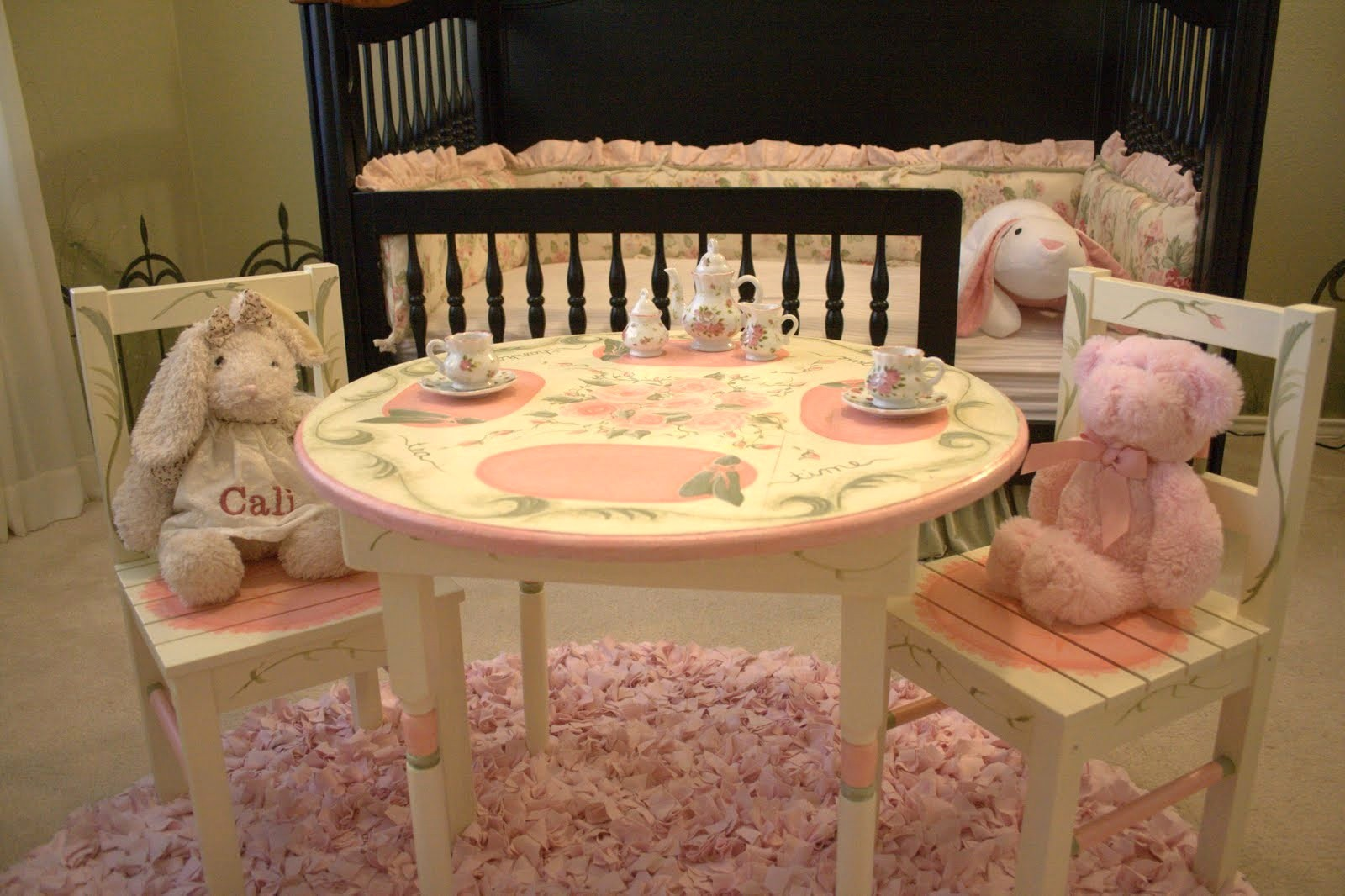 Kids Tea Party Table