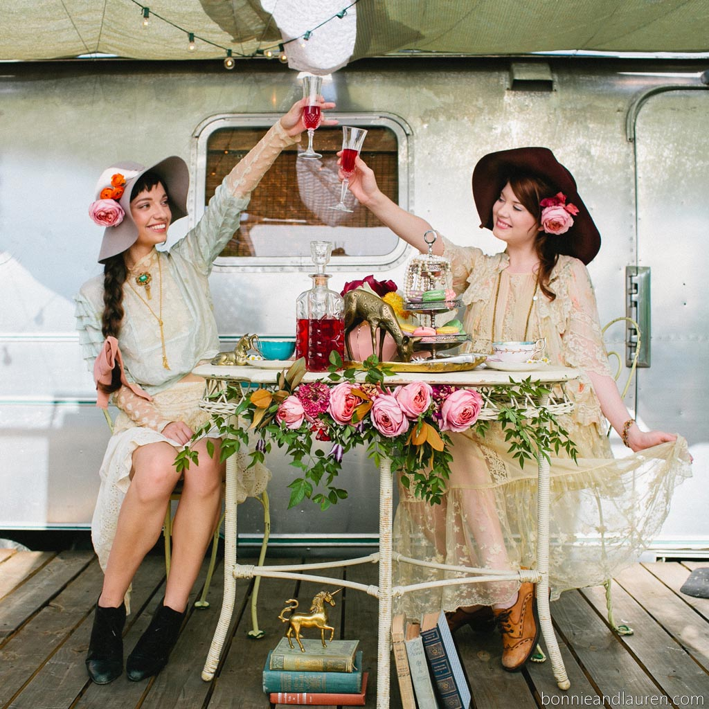 Marvelous Vintage Tea Party