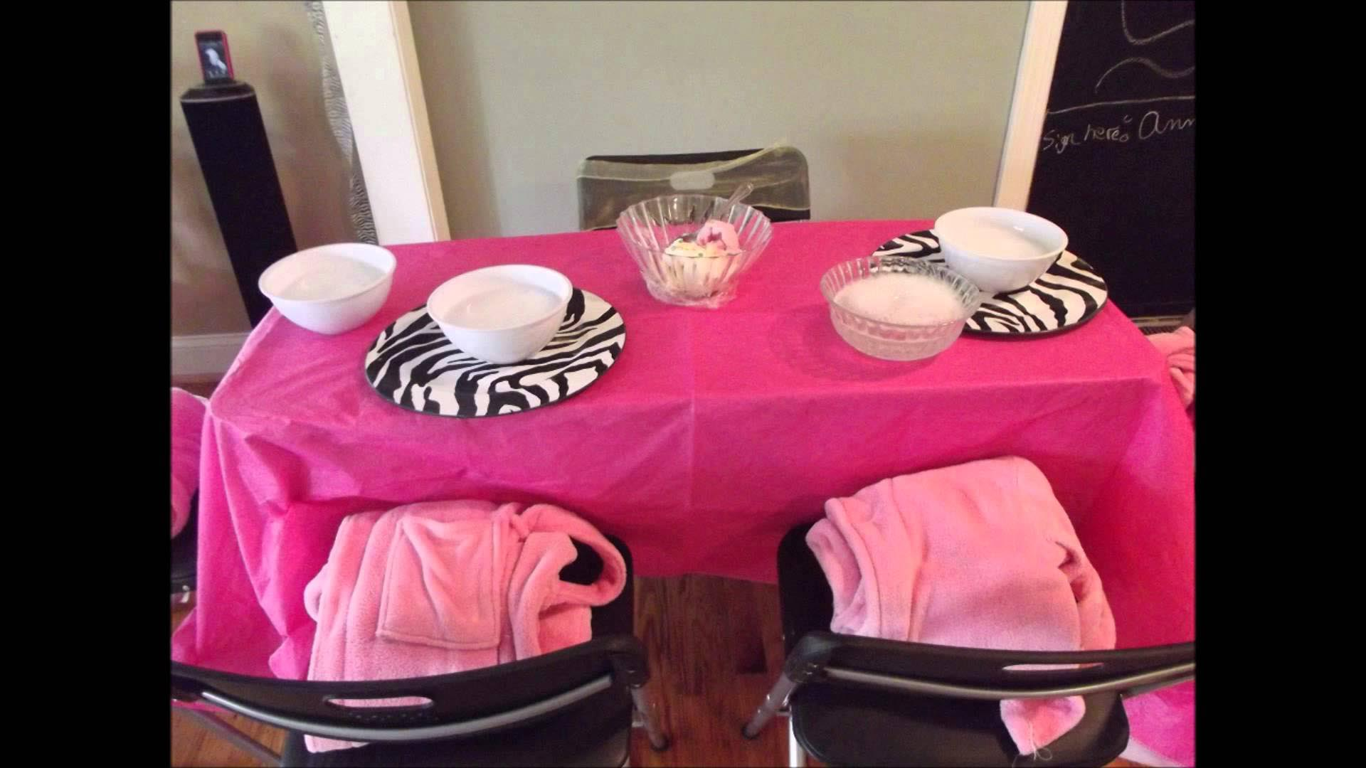 Mobile Spa Party for Girls