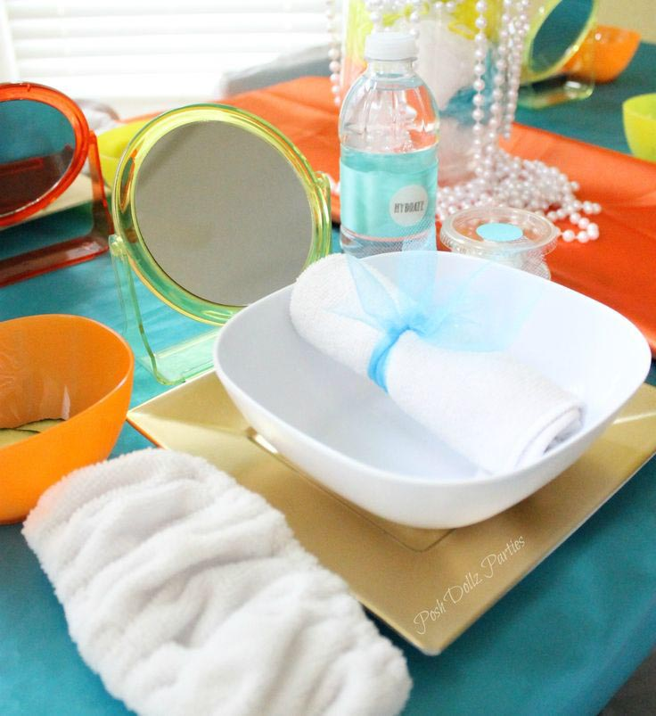 Mobile Spa Party for Kids