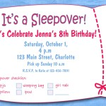 Pajama Party Invitations free Printable