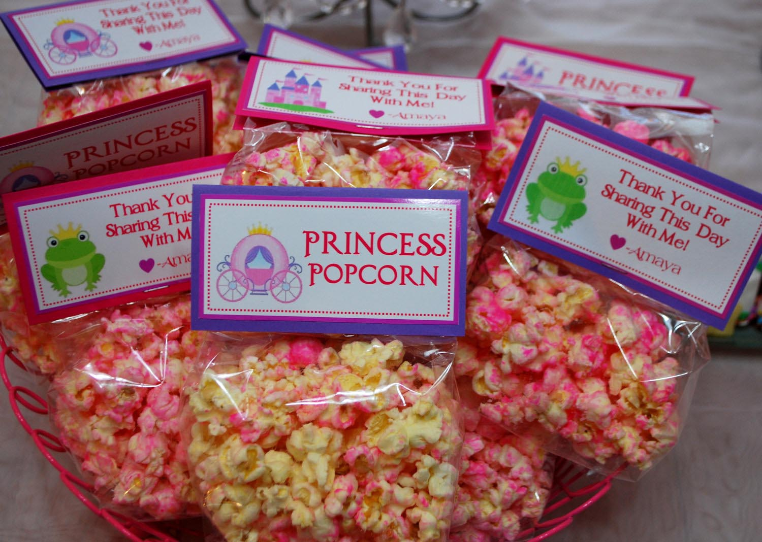 Party Favors for Princess Party