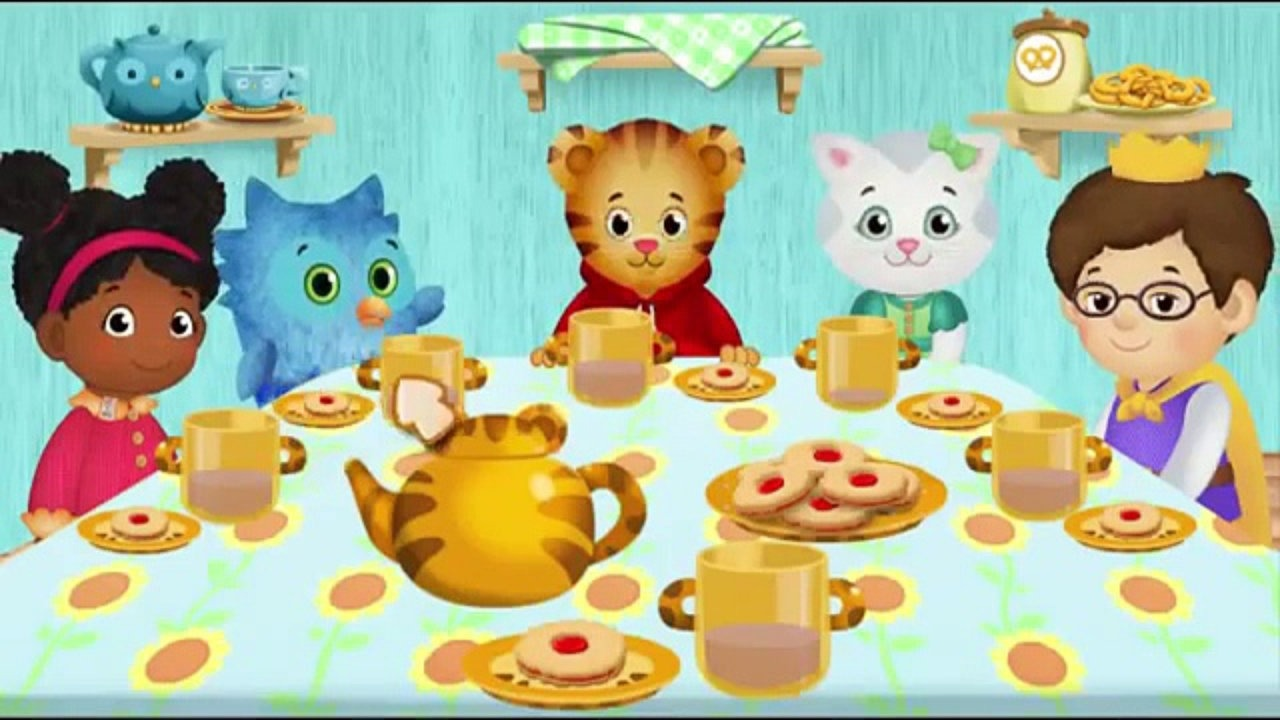 PBS Kids Tea Party