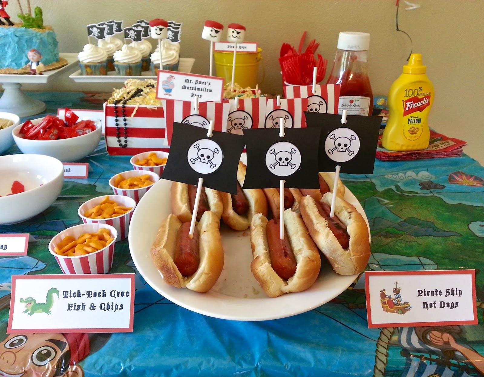 Children S Pirate Party Food