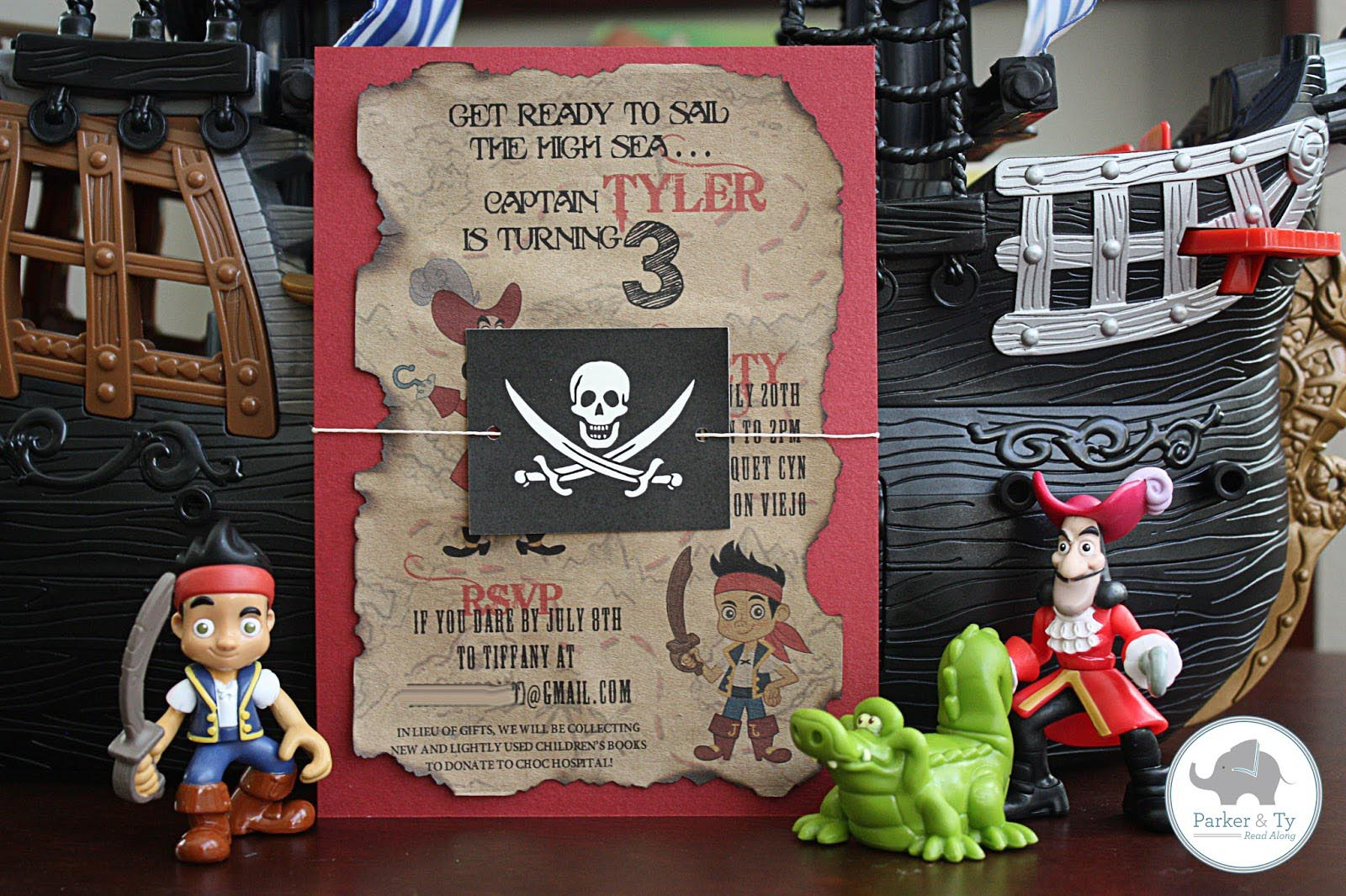 Pirate Party Invitations Free Printable | Home Party Ideas