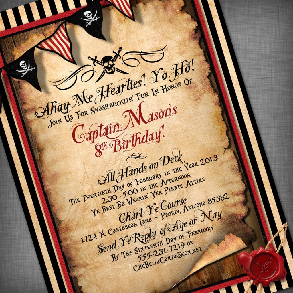 pirate party Hosting a surprise birthday bash or planning the perfect bachelorette party zazzle has you covered with a wide variety of themed pirate party supplies get yours now.