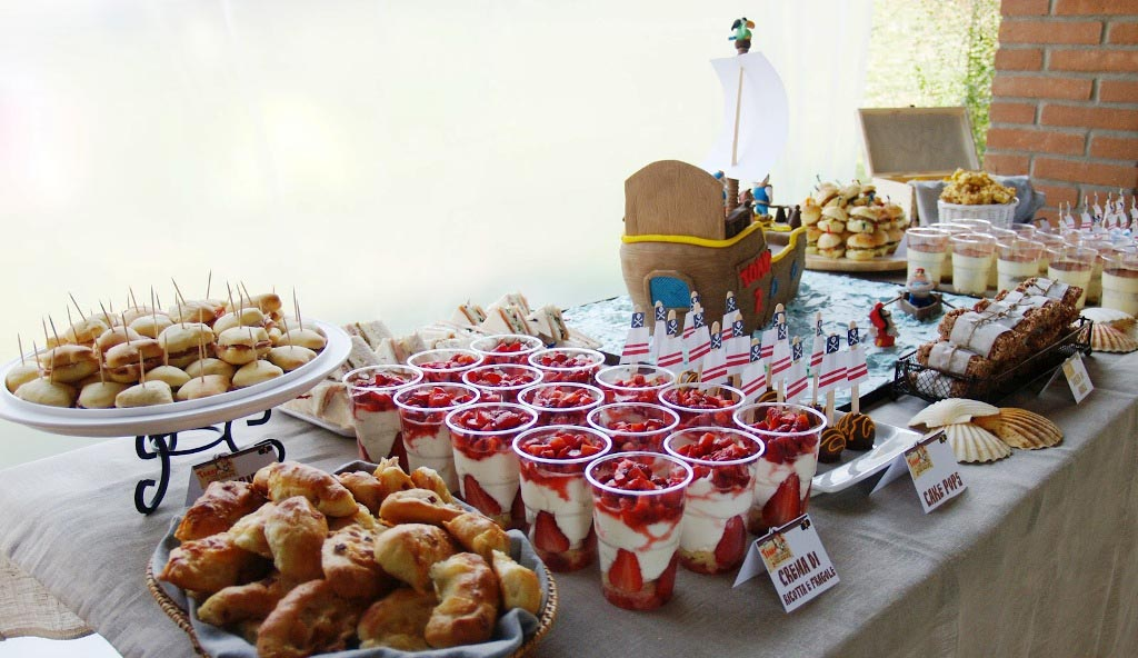Pirate Party Theme Food Home Party Ideas