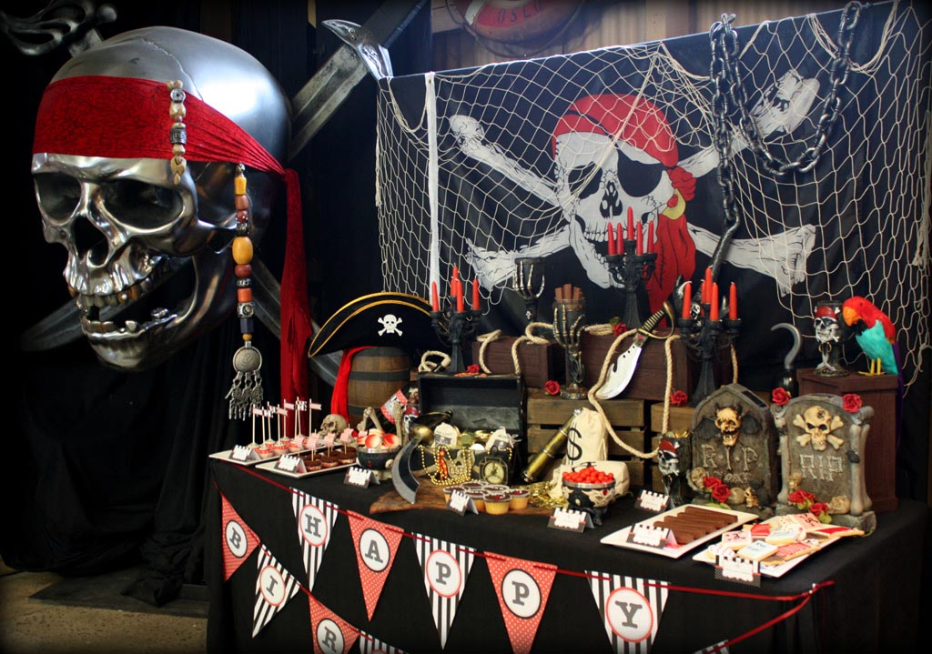 Pirate Theme Party Games