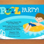 Pool Party Kids Invitations
